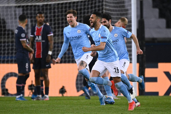 Hasil Pertandingan Paris Saint-Germain vs Manchester City Semifinal Liga Champions Leg 1